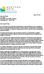 Letter to Senator Ron Wyden