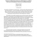 PAPER: Enabling the Widespread Adoption of Wind Energy in the West
